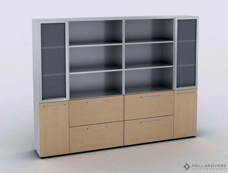 LIBRERIE mobili per ufficio a roma - agfsrl Mobili per ufficio a Roma – AGFSRL Libreria 2